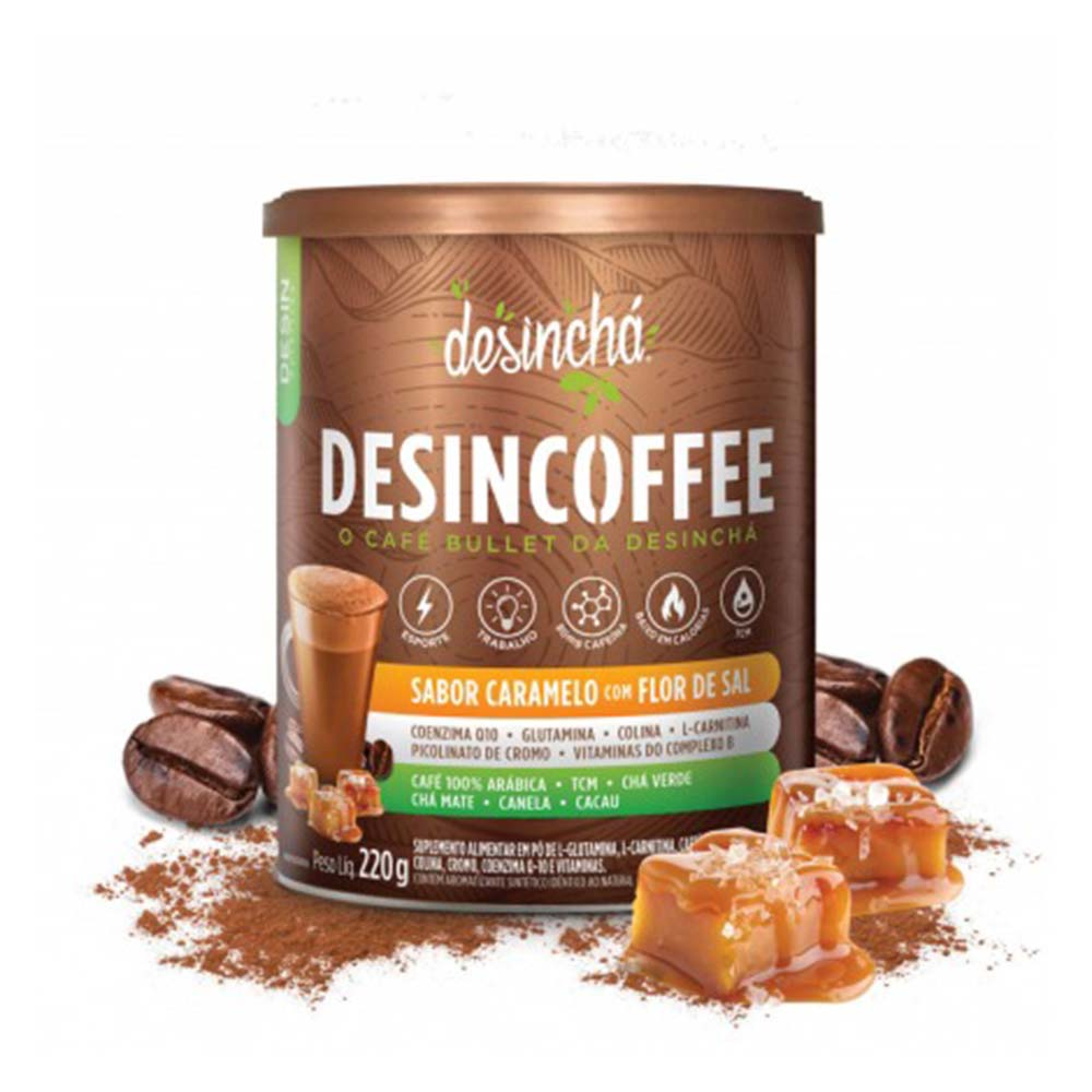 Desincha Desincoffee Caramelo Com Flor De Sal 220g  - KFit Nutrition