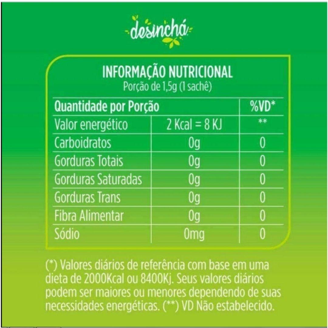 Desinchá Dia e Noite 60 Sachês  - KFit Nutrition