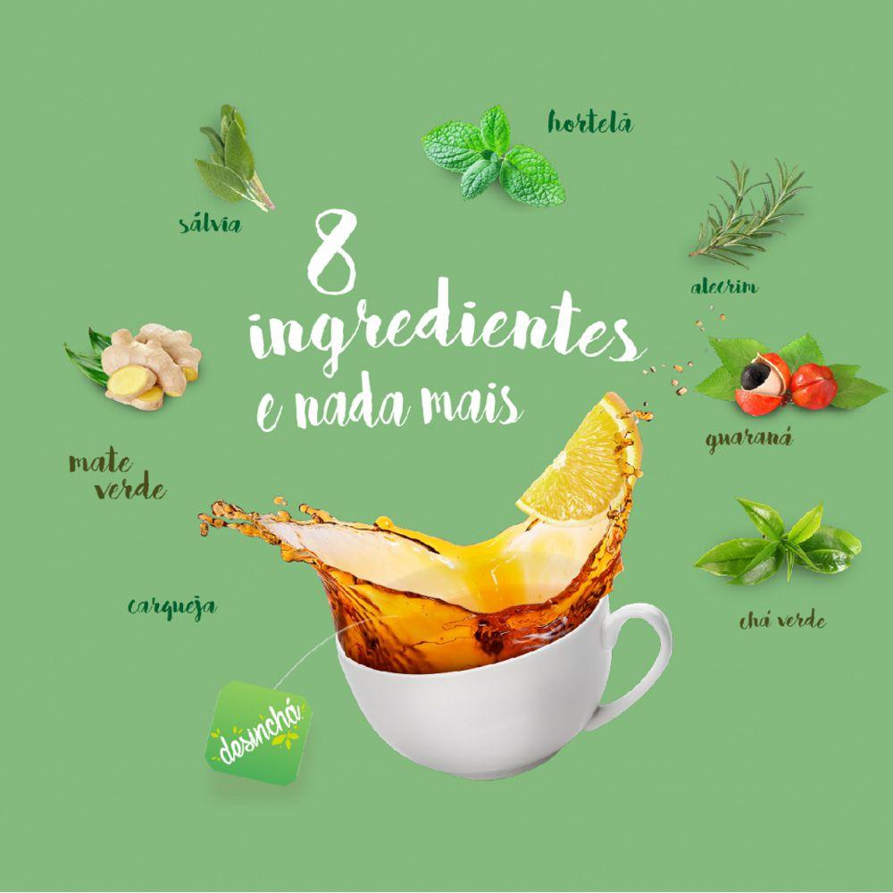 Desinchá Viagem 20 sachês  - KFit Nutrition