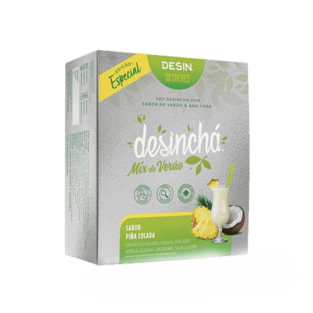 Desinchá Mix de Verão Piña Colada 30 Sachês  - KFit Nutrition