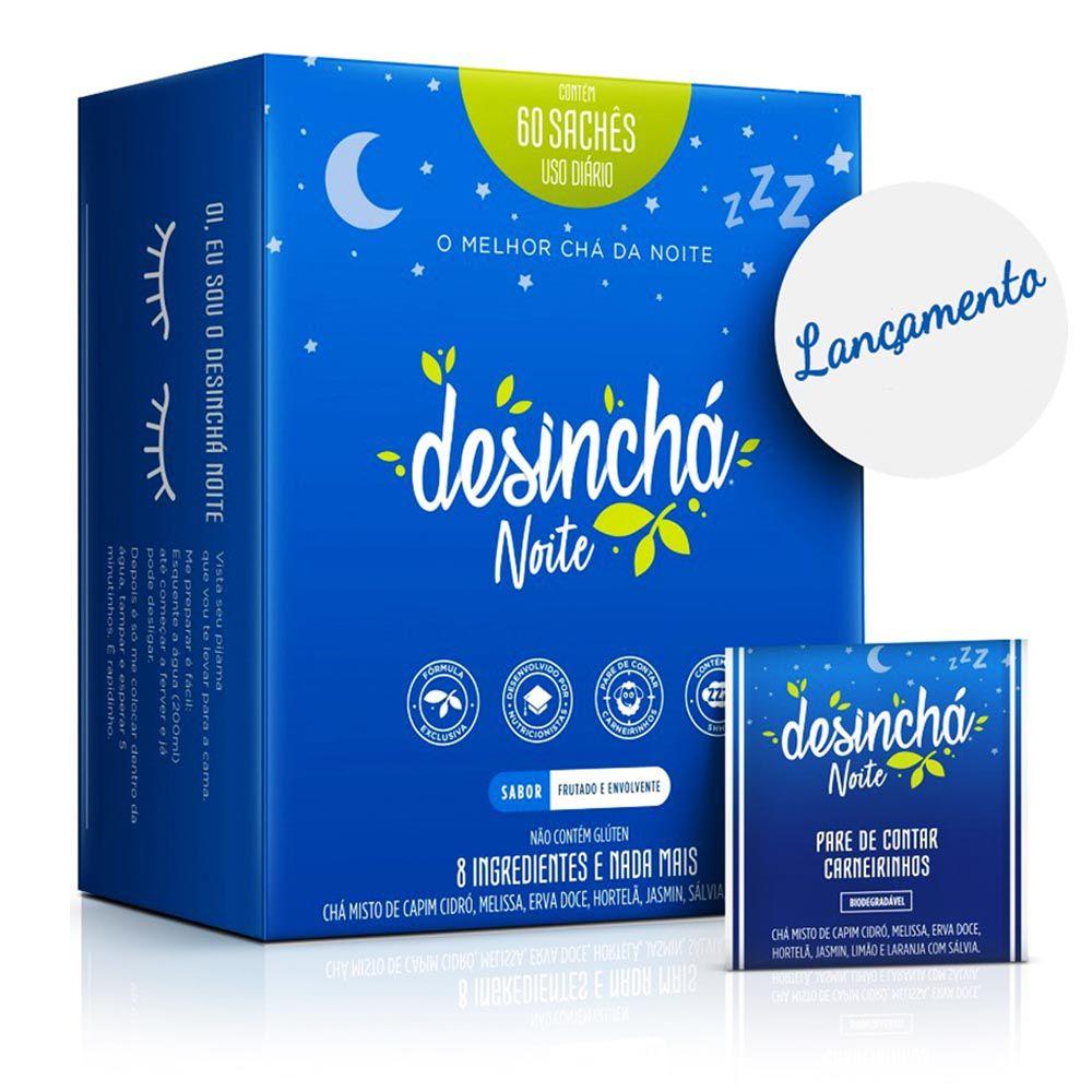 Desincha Noite 60 Sachês  - KFit Nutrition