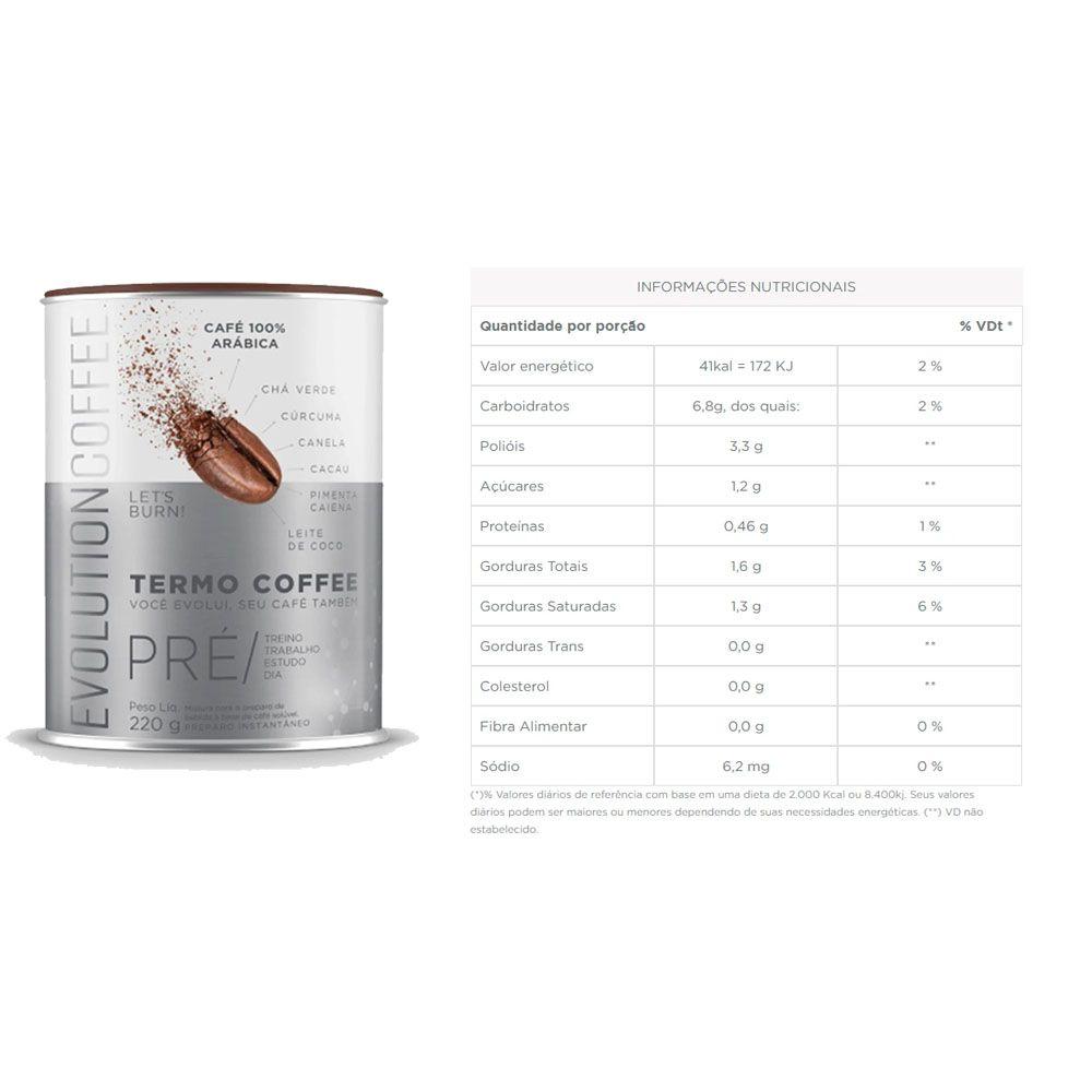 Desinchá Viagem 20 sachês + Evolution Coffee 220g  - KFit Nutrition