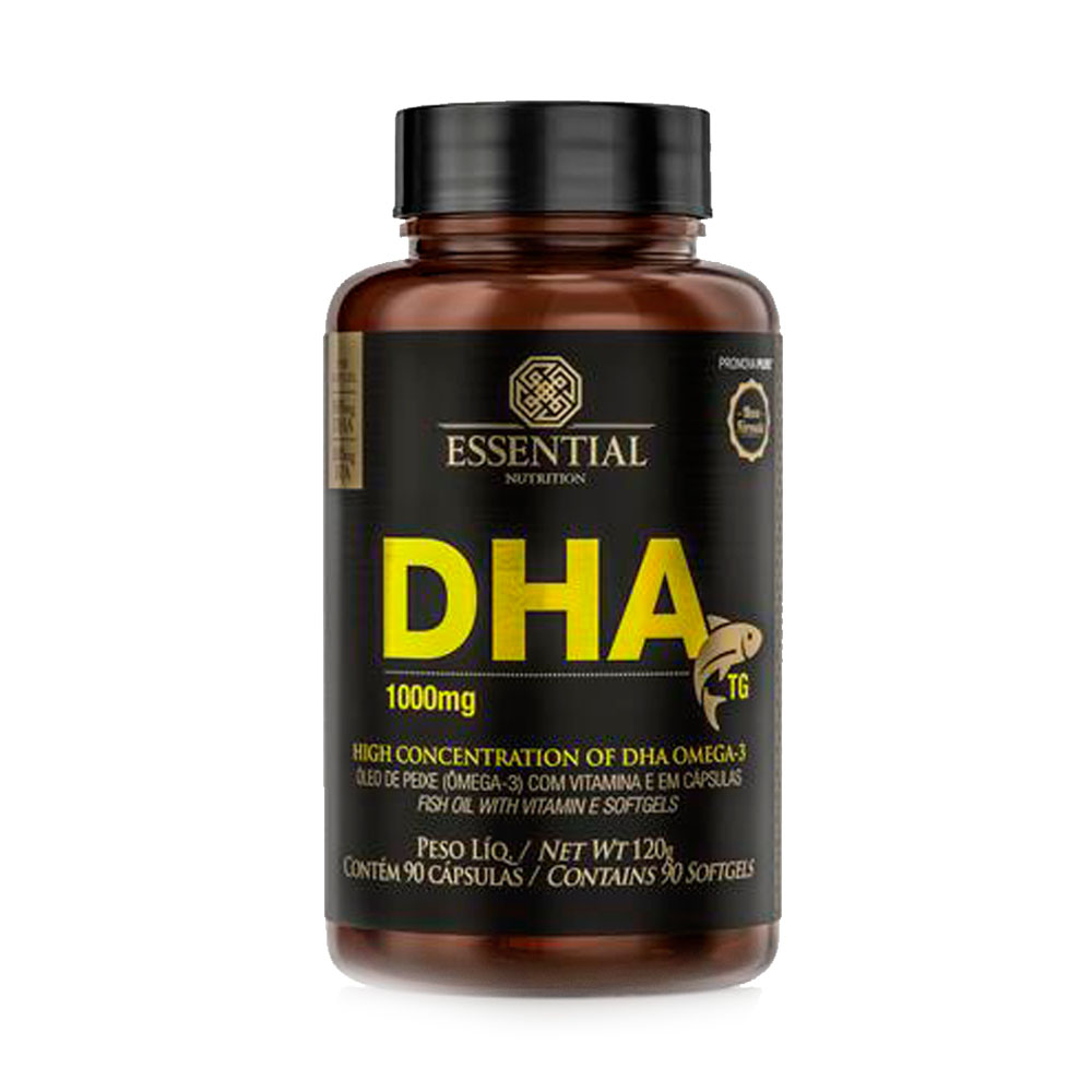 DHA TG 1G 90 caps - Essential  - KFit Nutrition