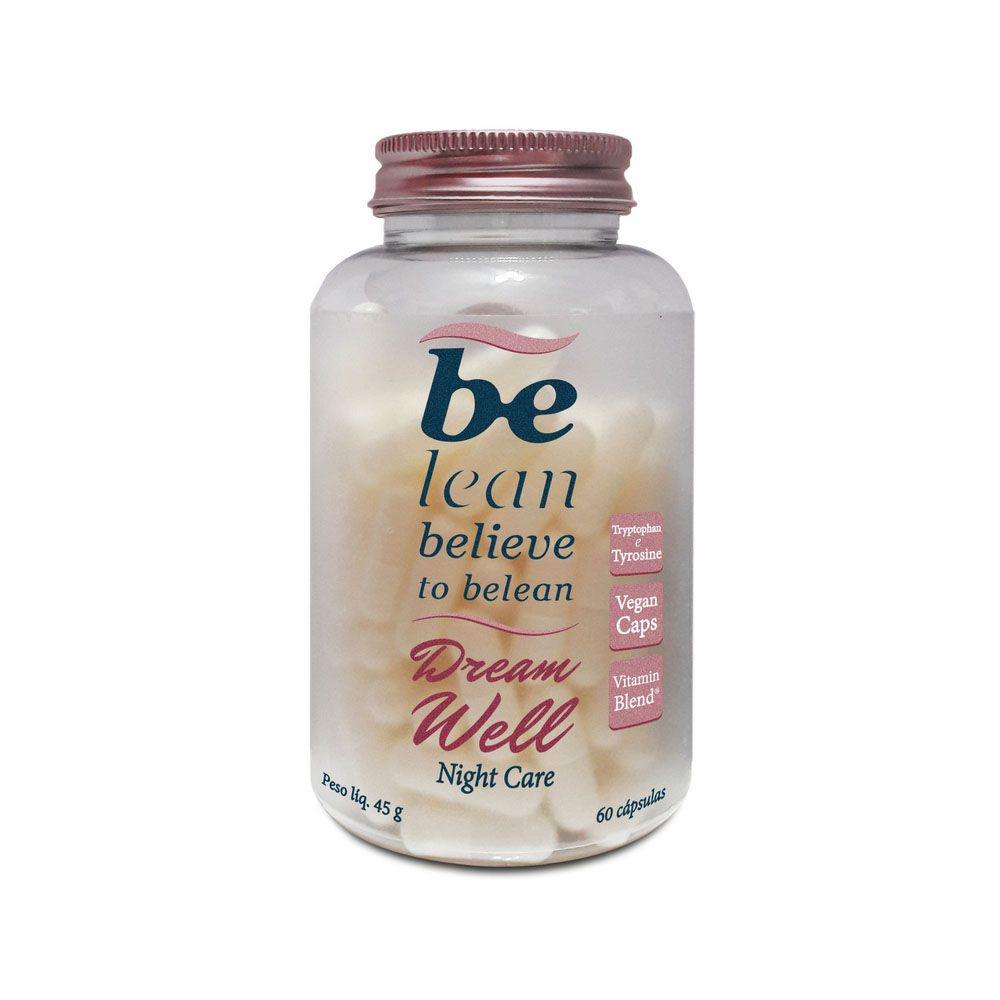 Dream Well Night Care 60 Cápsula  45g - Be Lean  - KFit Nutrition