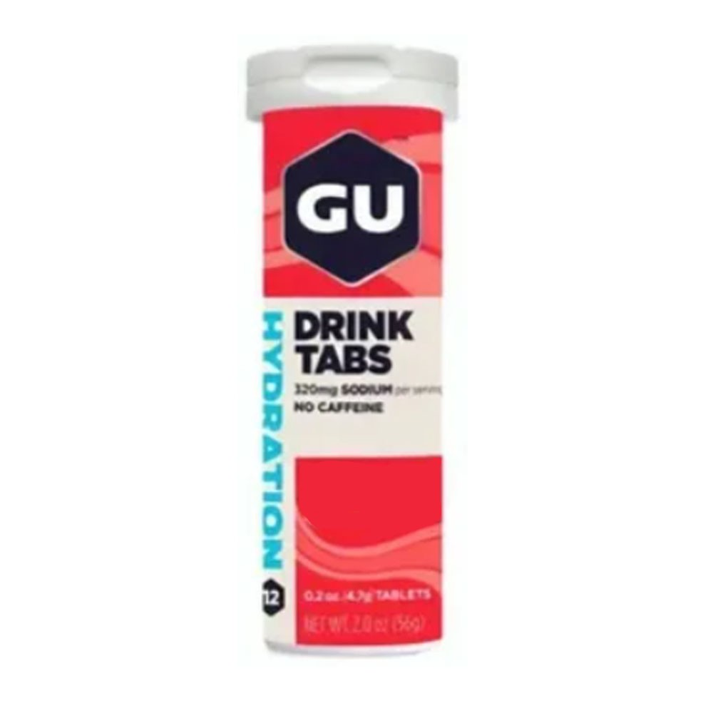 Drink Tabs Morango - Gu  - KFit Nutrition