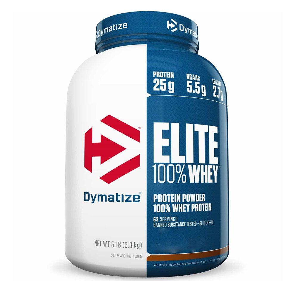 Elite 100% Whey 5 LBS Chocolate  - KFit Nutrition