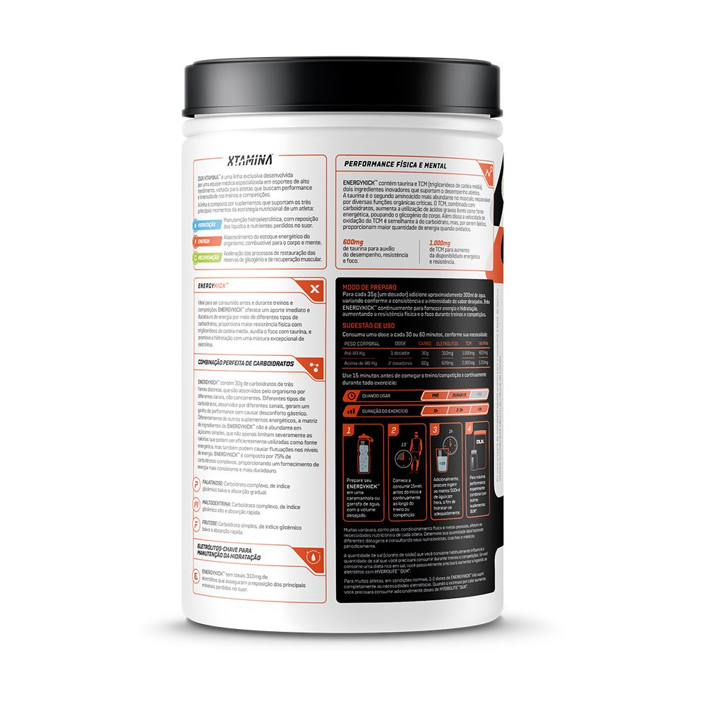 EnergyKick Abacaxi 1kg + Supercoffee 2.0 220g  - KFit Nutrition