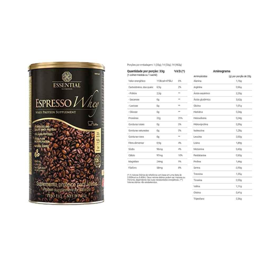 Espresso Whey 462g - Essential  - KFit Nutrition