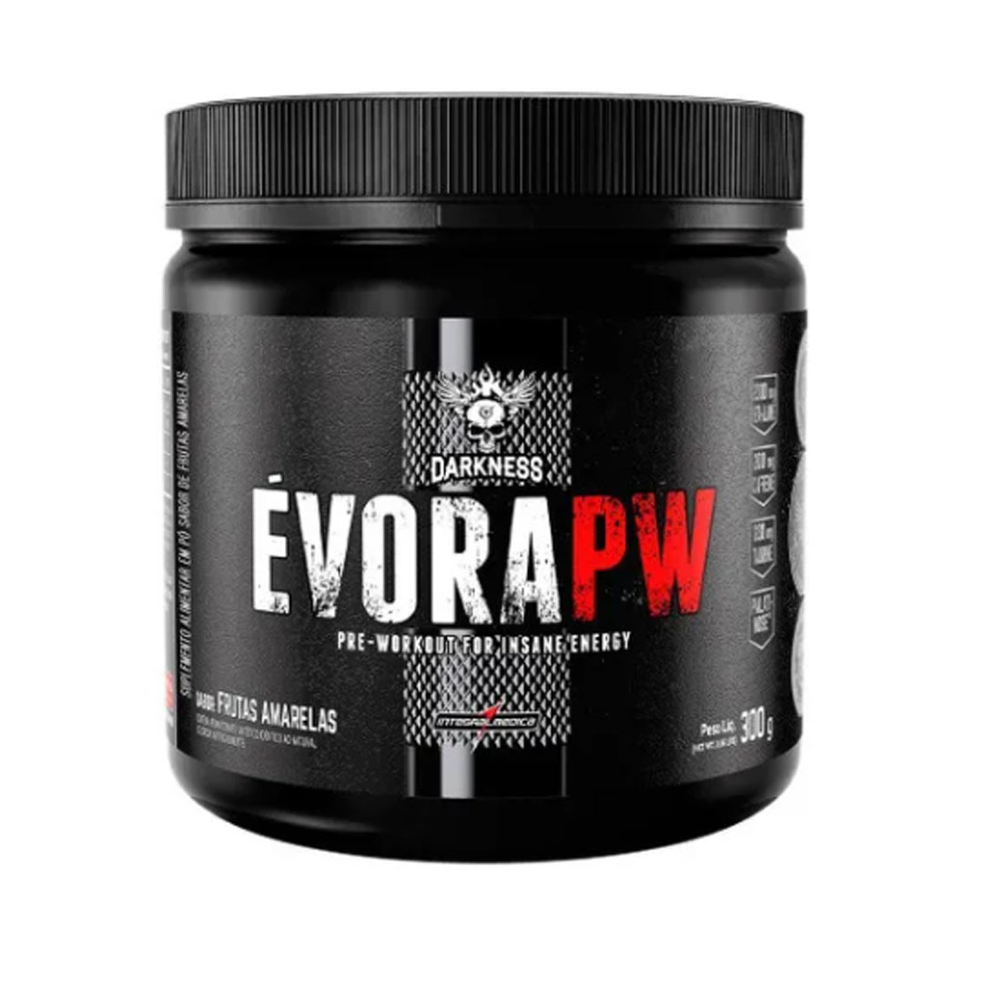 Evora Pw Frutas Amarelas 300g - Darkness  - KFit Nutrition