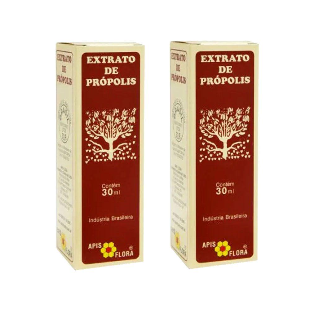 Extrato de Própolis 30 ml - Apis Flora 2 Un  - KFit Nutrition