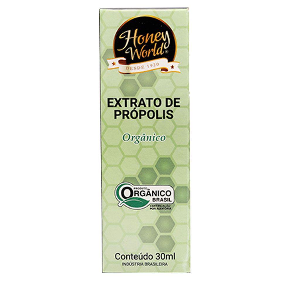 Extrato de Própolis Verde Alecrim Orgânico 30ml Honey World  - KFit Nutrition