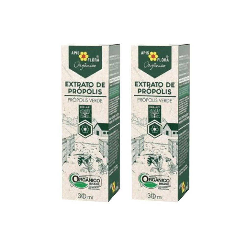 Extrato de Própolis Verde Orgânico 30 mL - BR 2Un  - KFit Nutrition