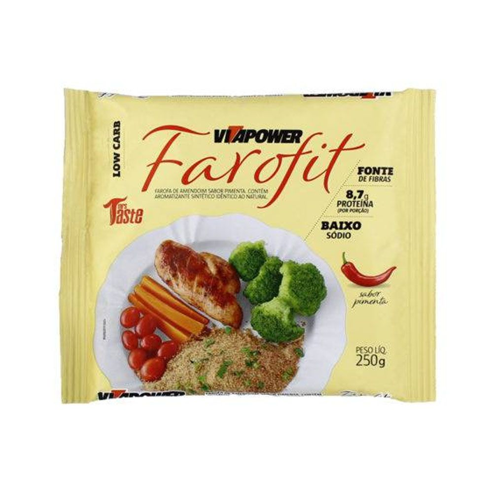 Farofit Low Carb 250g Pimenta  - KFit Nutrition
