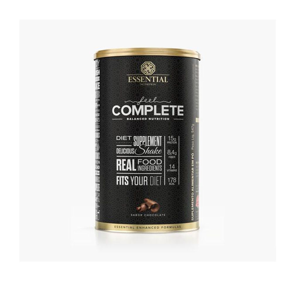FEell Complete 547g Chocolate -  Essential Nutrition  - KFit Nutrition