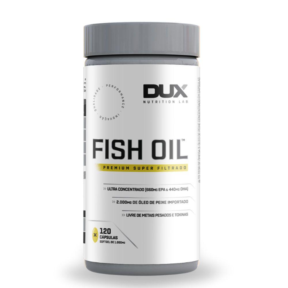 Fish Oil 120 Cápsulas - Dux  - KFit Nutrition