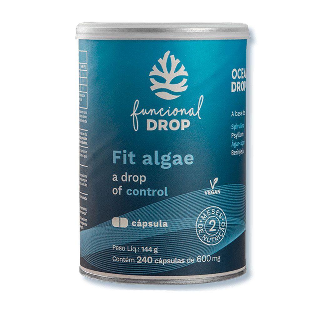 Fit Algae 240 Caps Ocean Drop  - KFit Nutrition