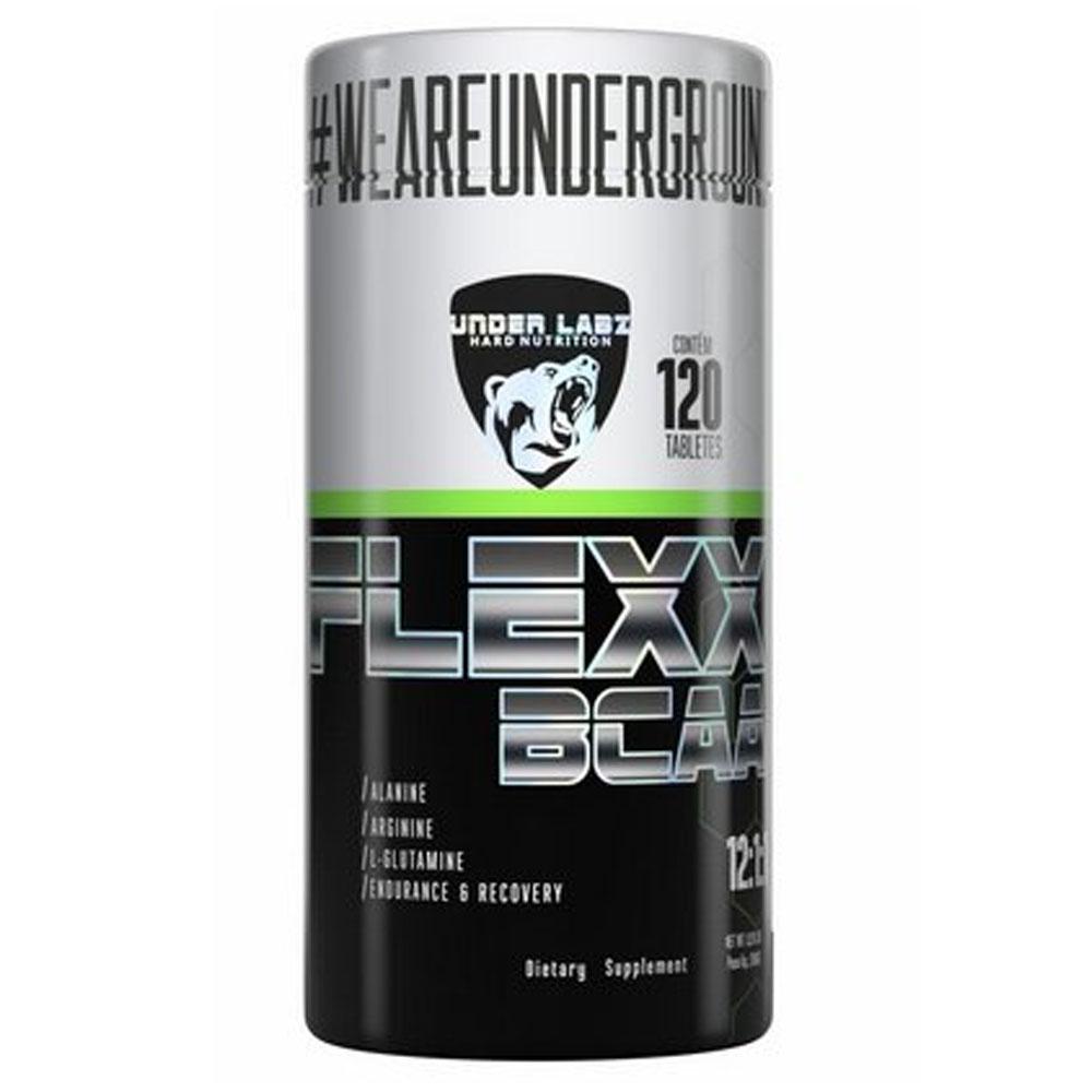Flexx Bcaa 120 Tabs - Under Labz  - KFit Nutrition