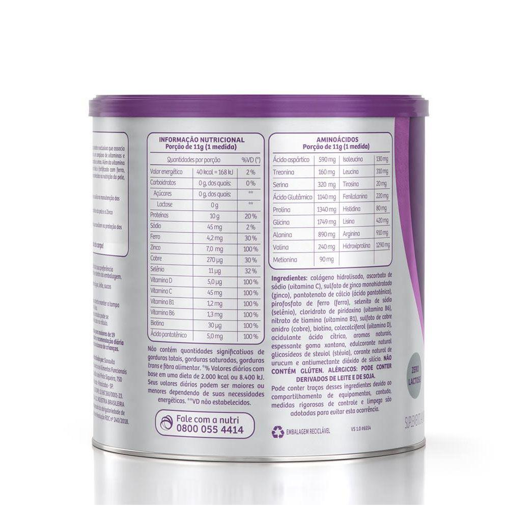 Forcee Hair and Nails Laranja 330g - Sanavita  - KFit Nutrition