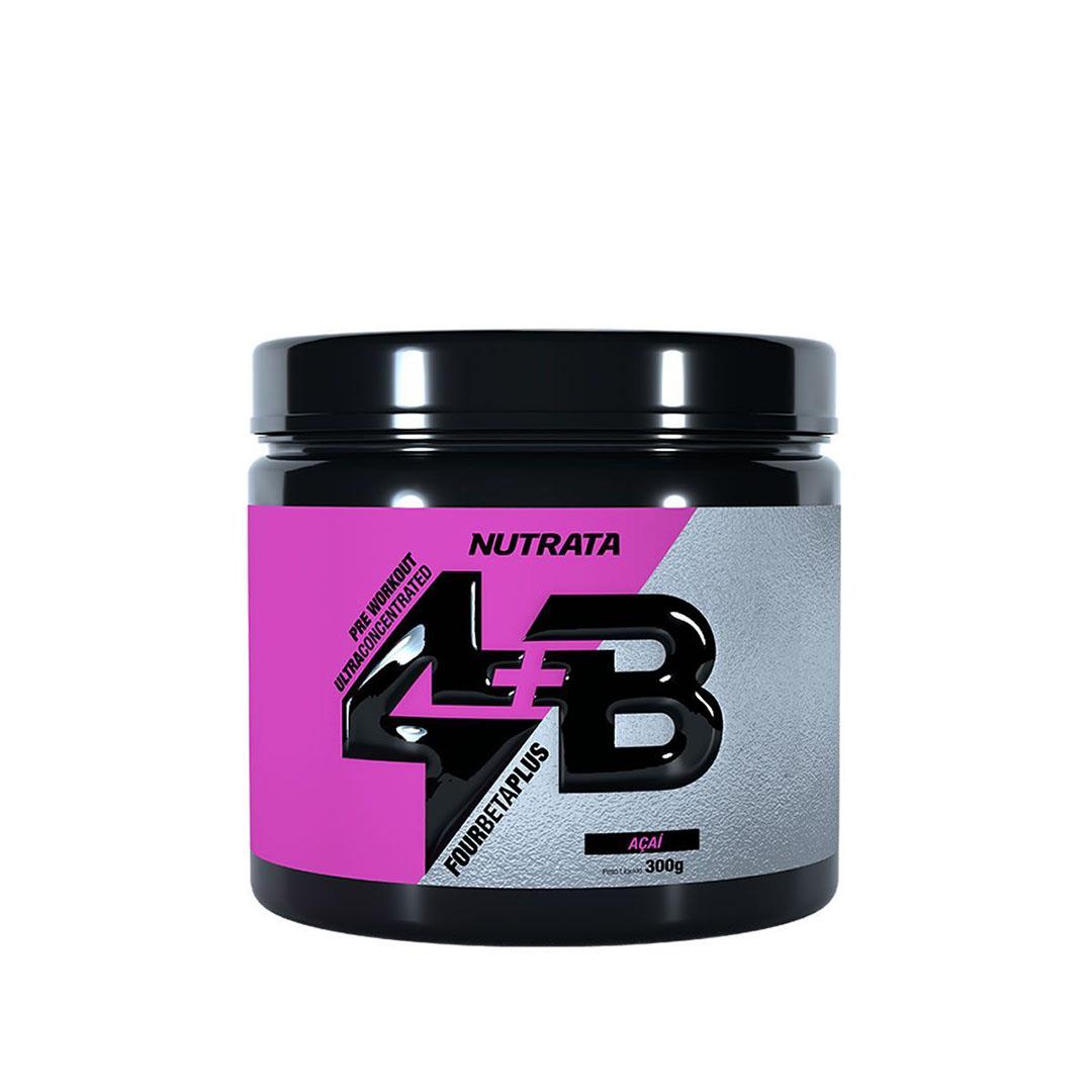 Four Beta Plus Pre Workout Acai 300g - Nutrata  - KFit Nutrition