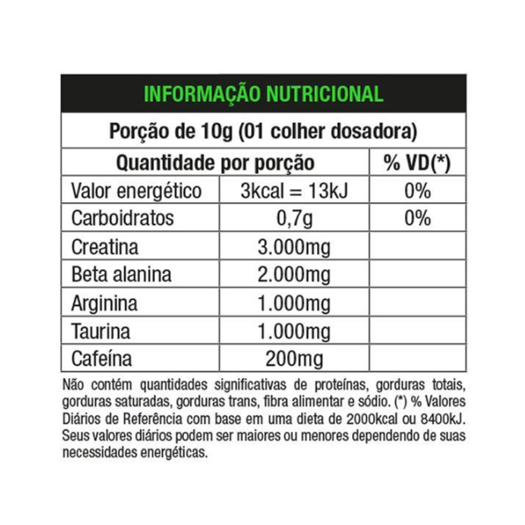 Four Beta Plus Pre Workout Lemon Fresh 300g - Nutrata  - KFit Nutrition