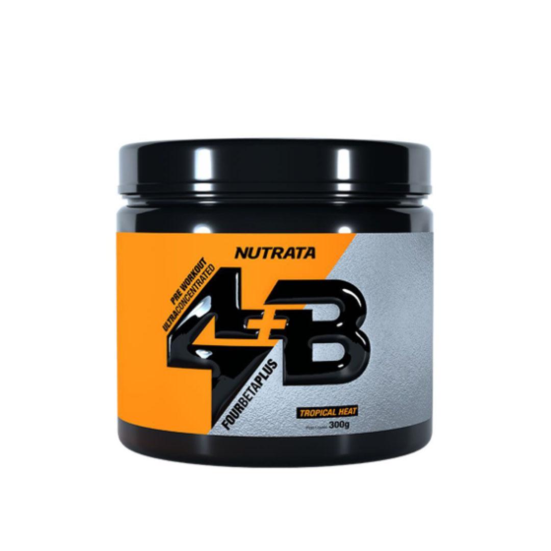 Four Beta Plus Pre Workout Tropical Heat 300g - Nutrata  - KFit Nutrition