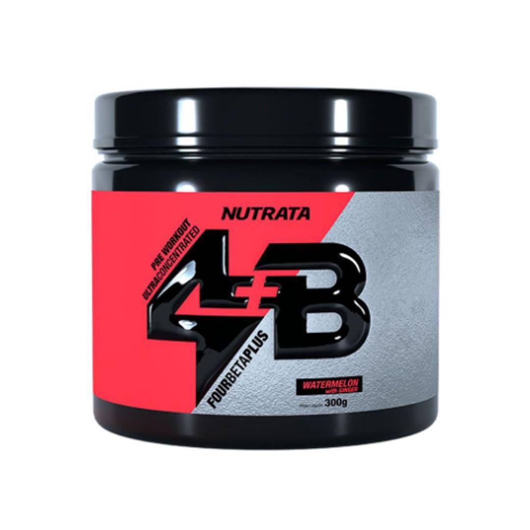 Four Beta Plus Pre Workout Watermelon Ginger 300g - Nutrata  - KFit Nutrition
