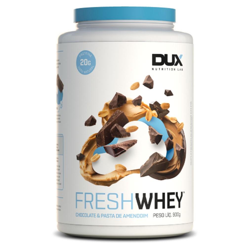 Fresh Whey Chocolate e Pasta de Amendoim 900g - Dux  - KFit Nutrition