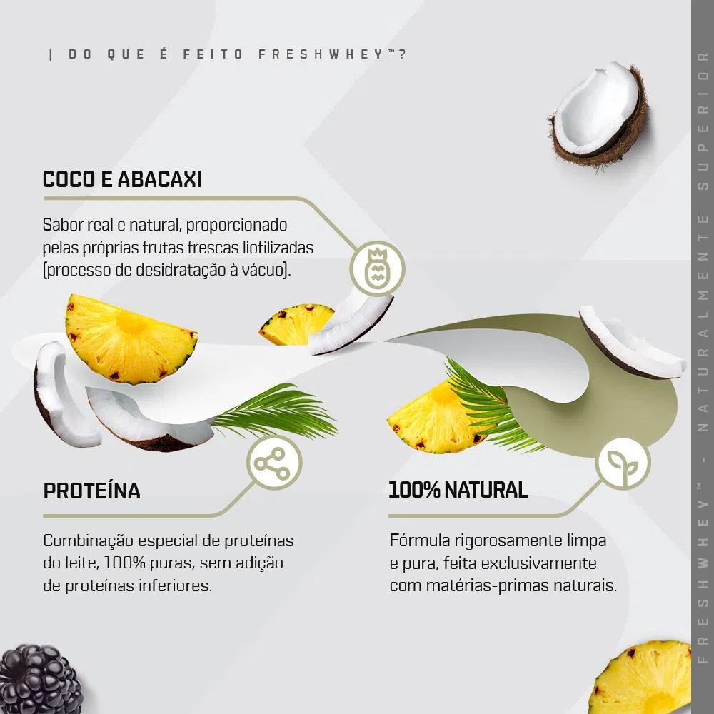 Fresh Whey Coco e Abacaxi 900g - Dux  - KFit Nutrition