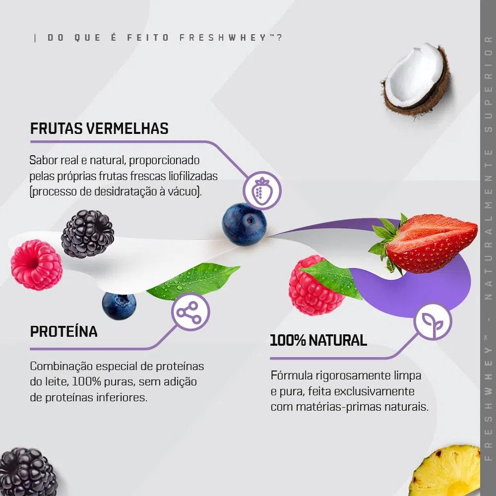 Fresh Whey Frutas Vermelhas 900g - Dux  - KFit Nutrition