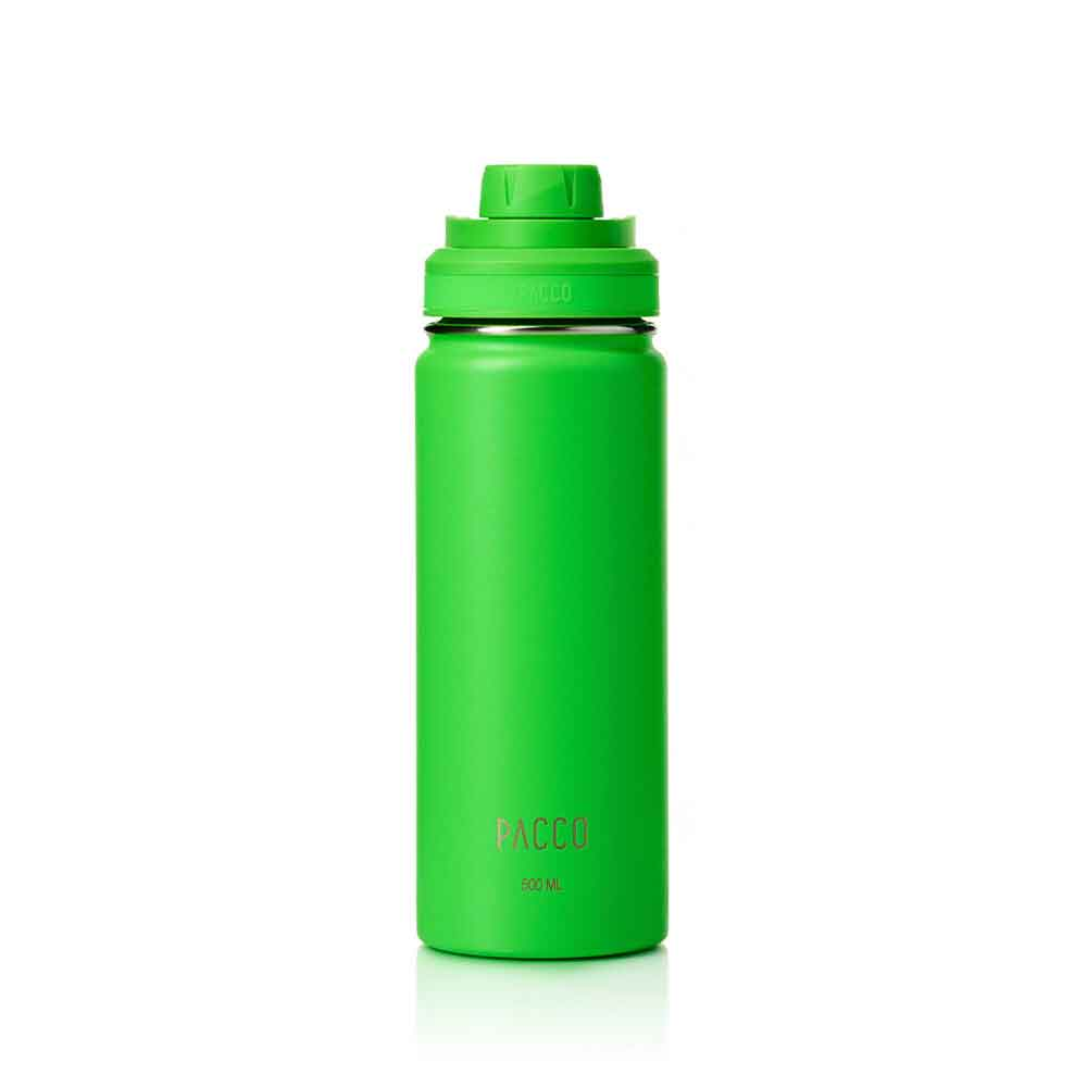Garrafa Termica Hydra Verde 500ml - Pacco  - KFit Nutrition