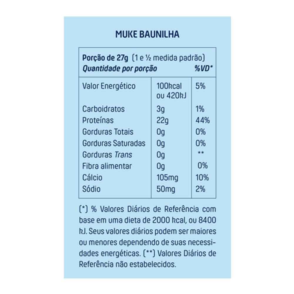 Garrafinha Baunilha Muke 27g +mu  - KFit Nutrition