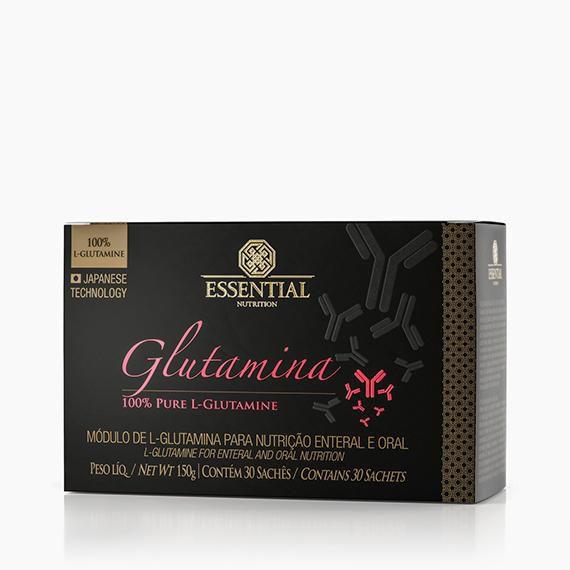 Glutamina 30 Sachês 5g Essential  - KFit Nutrition