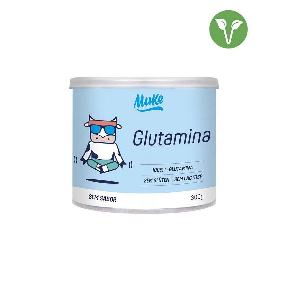 Glutamina Muke 300g - Mais Mu  - KFit Nutrition