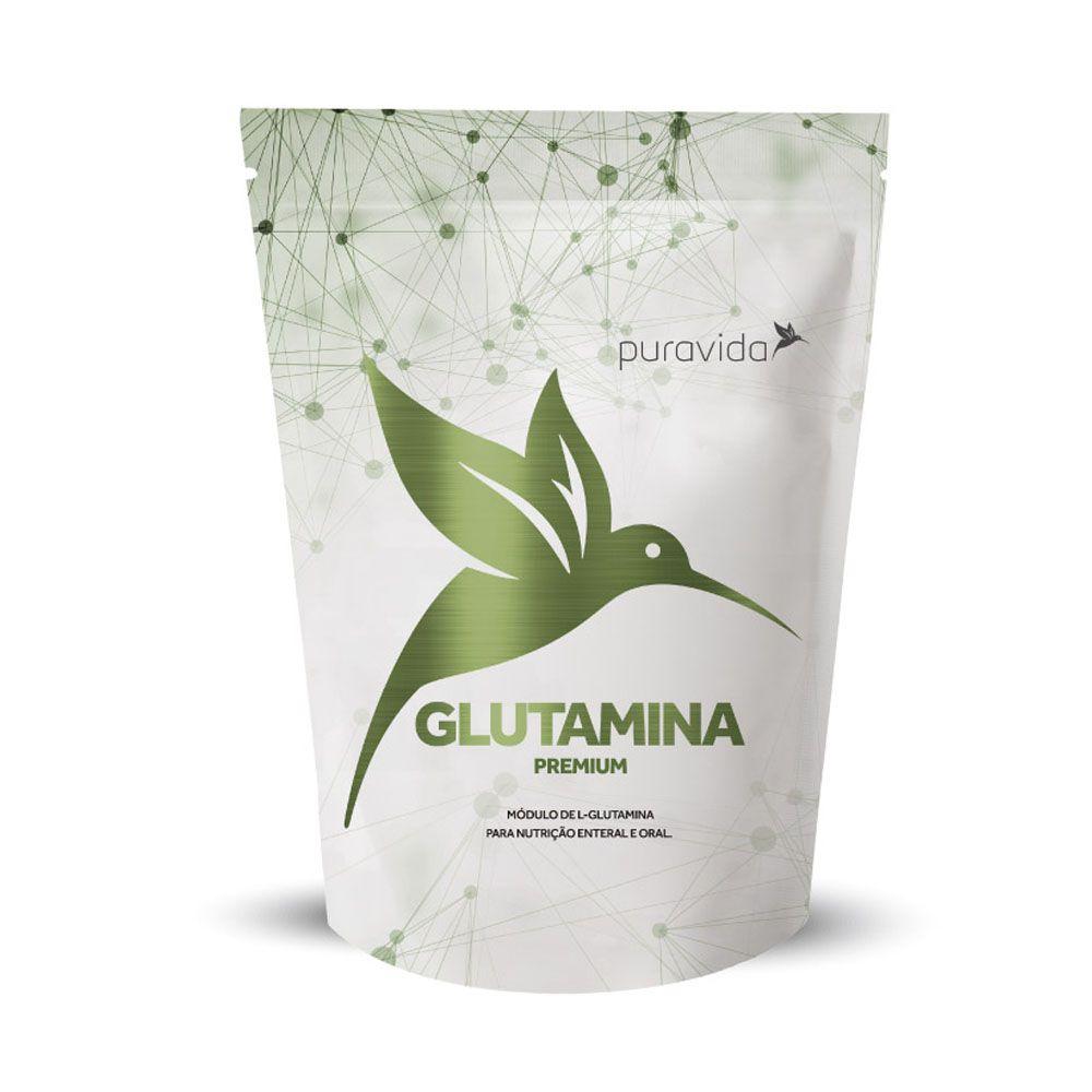 Glutamina Premium 300g - Pura Vida  - KFit Nutrition