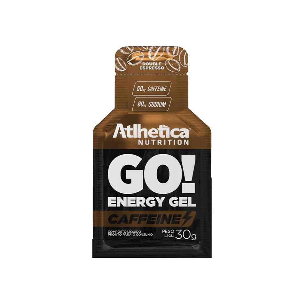 Go Energy Gel Caffeine Espresso Duplo - 10 Sachê Atlhetica Nutrition  - KFit Nutrition