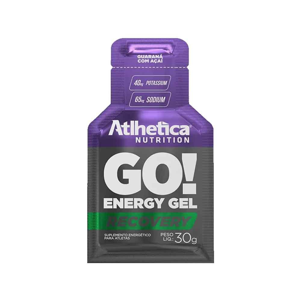 Go Energy Gel Guarana com Acai 10 Sachê Atlhetica Nutrition  - KFit Nutrition