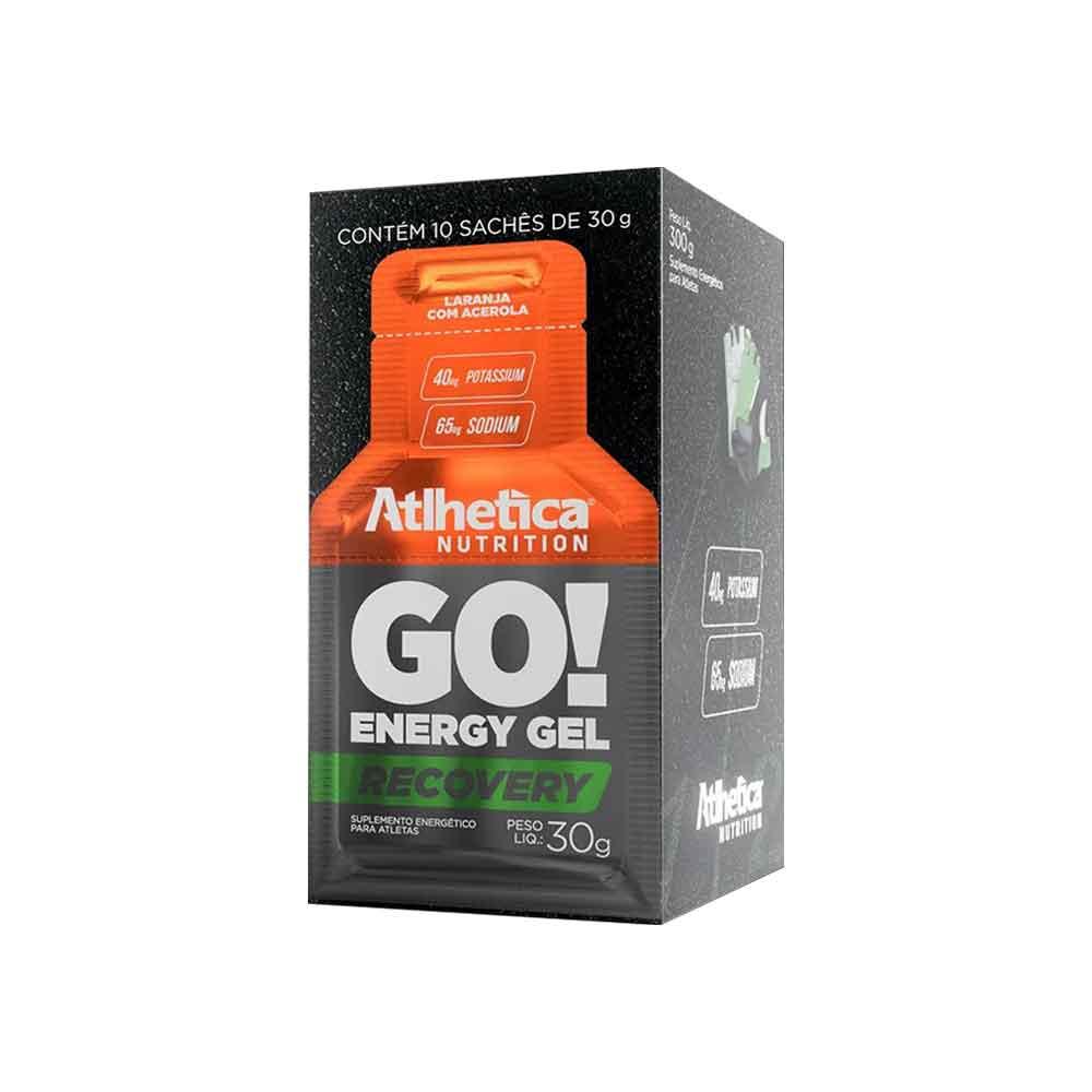 Go Energy Gel Laranja com Acerola 10 Sachê Atlhetica Nutrition  - KFit Nutrition