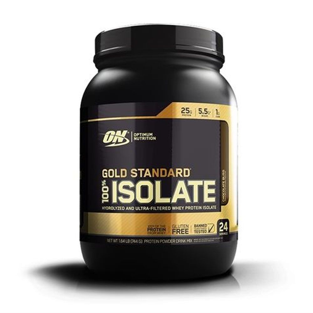 Gold Standard 100% Isolate Chocolate Bliss 720g Optimun Nutrition Venc 09/2020  - KFit Nutrition