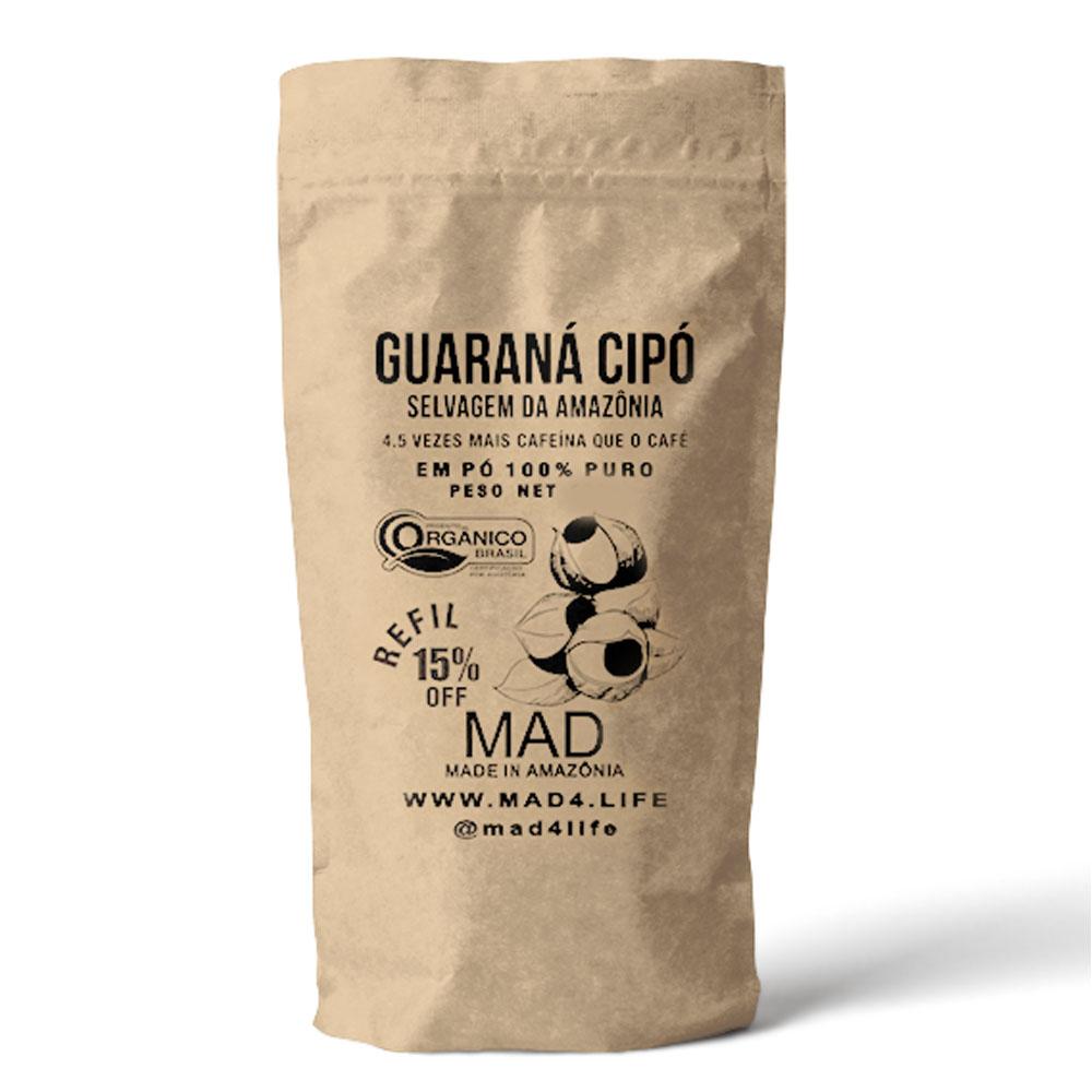 Guaraná Cipó 100g Pó Puro - MAD  - KFit Nutrition