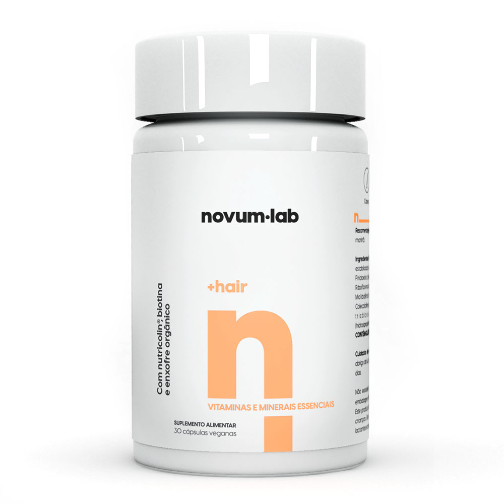 Hair 30 Cáps - Novum.lab  - KFit Nutrition