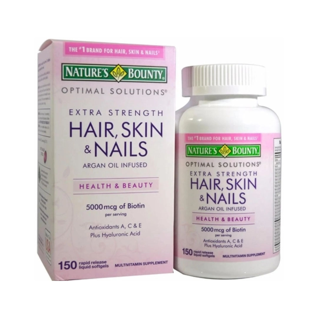 Hair Skin e Nails 150 Soft - Natures Bounty  - KFit Nutrition