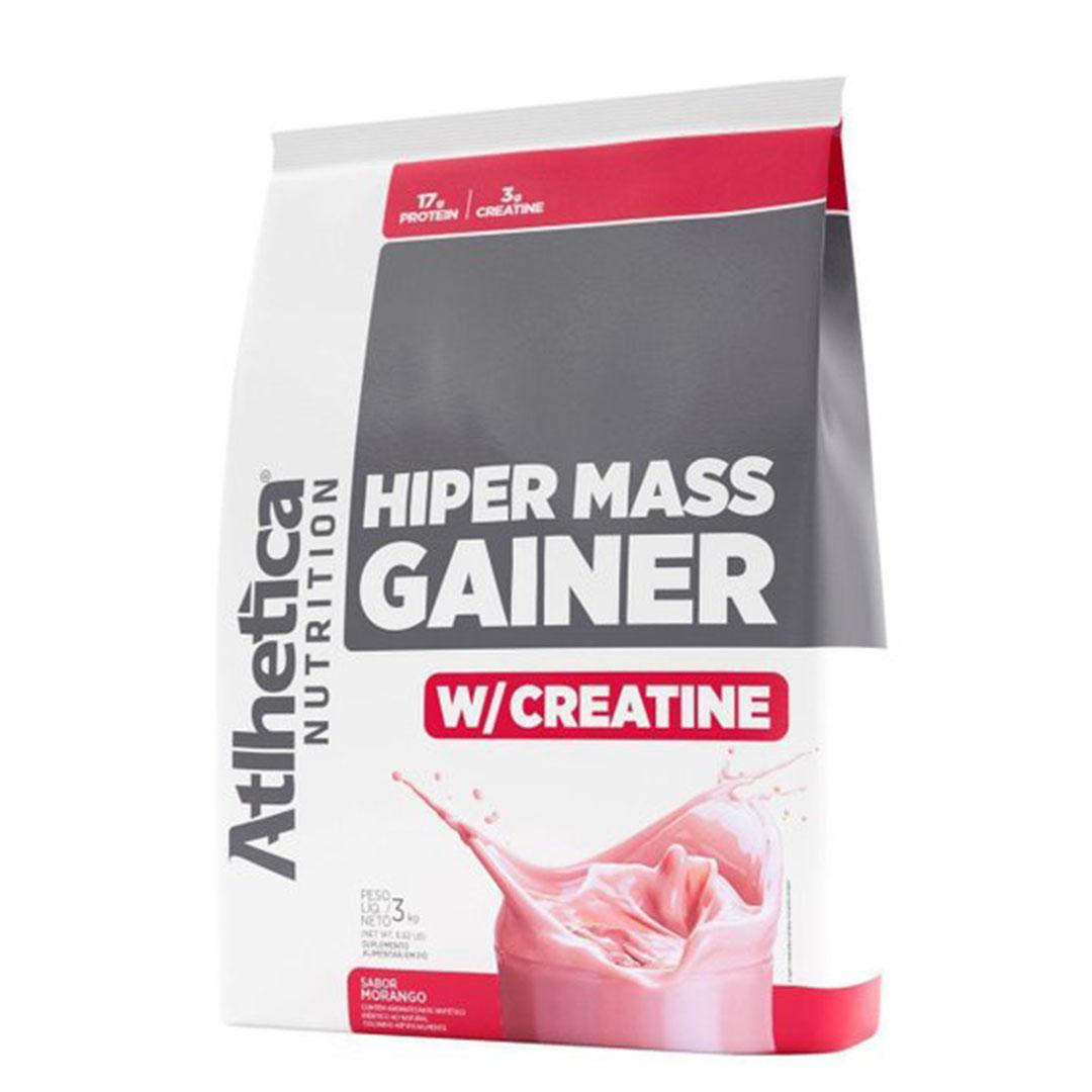 Hiper Mass Gainer 3kg Morango - Atlhetica Nutrition  - KFit Nutrition