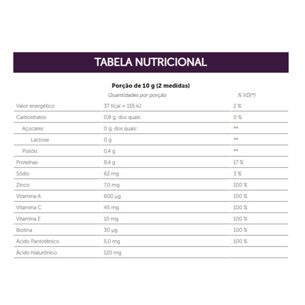 Hyaluronic Skin Pêssego com Capim Santo 300g - Sanavita  - KFit Nutrition