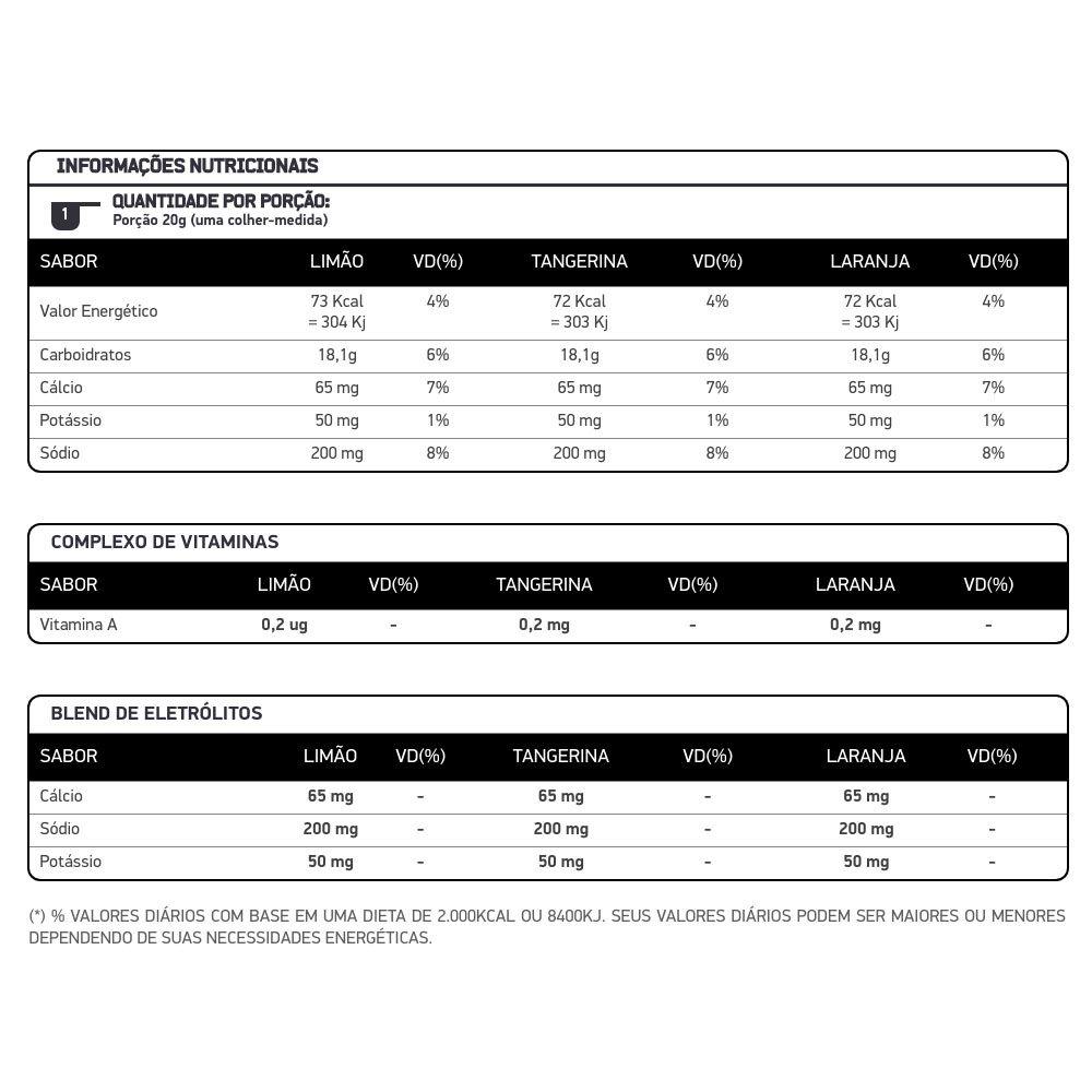 Hydrolite Tangerina  1.000g  - KFit Nutrition