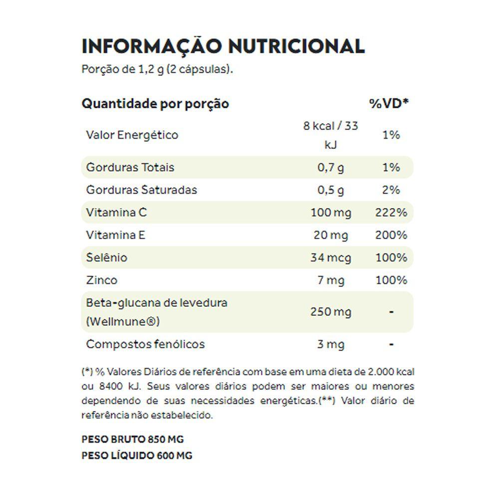 Immune Essential Guard 60 Caps Puravida  - KFit Nutrition