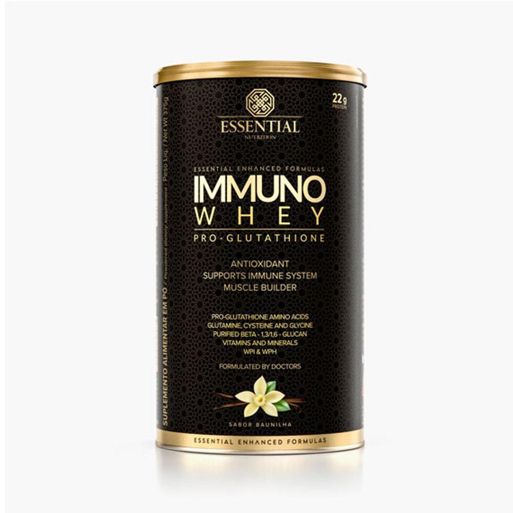 Immuno Whey Pro Glutathione Baunilha 375g - Essential Nutrition  - KFit Nutrition