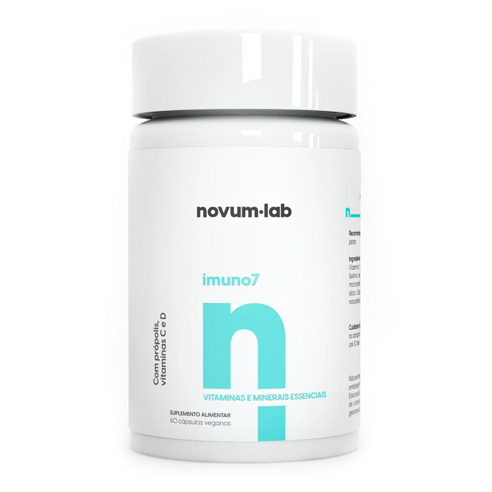 Imuno7 60 Cáps - Novum.lab  - KFit Nutrition