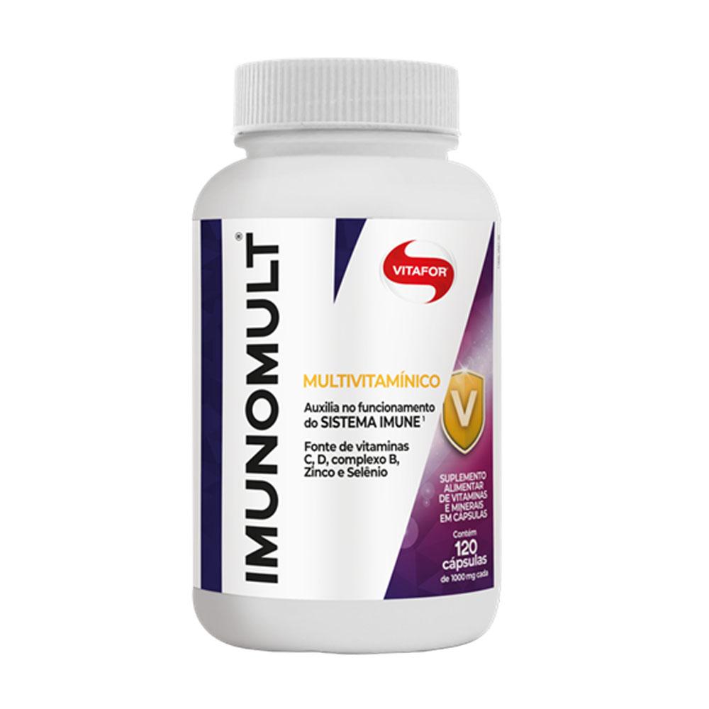 Imunomult 120 Cáps - Vitafor  - KFit Nutrition