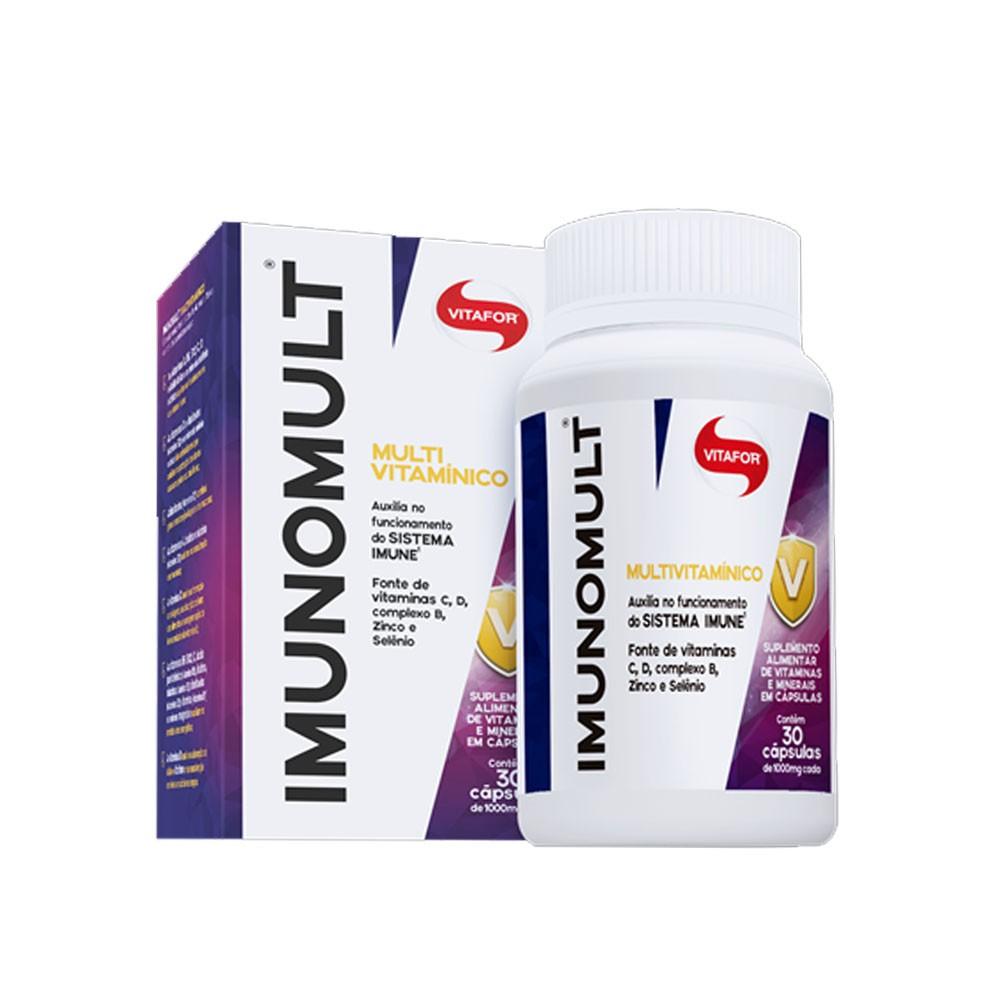 Imunomult 30 Cáps - Vitafor  - KFit Nutrition