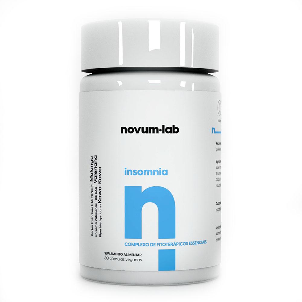 Insomnia 60 Cáps - Novum.lab  - KFit Nutrition